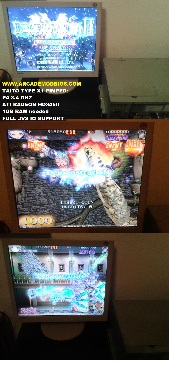 ARCADE MODBIOS Taito G-NET GNET Sega ST-V STV Taito F3 Sega NAOMI